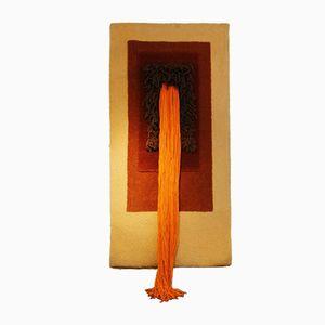 Vintage Orange Tapestry