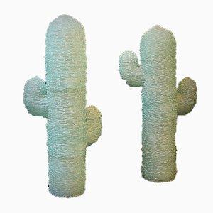 Murano Glas Kaktus Lampen, 2er Set