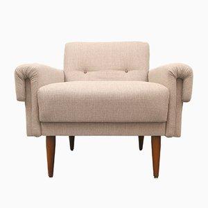Deutscher Beiger Sessel, 1950er