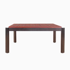 Mid-Century Teak Coffee Table by Rolf Middelboe & Gorm Lindum, 1974