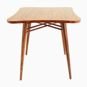 Table Basse en Noyer de Cesky Nabytek, République Tchèque, 1950s