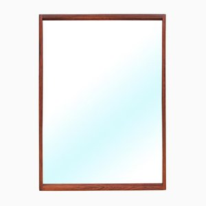 Specchio in palissandro brasiliano di Kai Kristiansen per Aksel Kjersgaard, Danimarca, anni '60