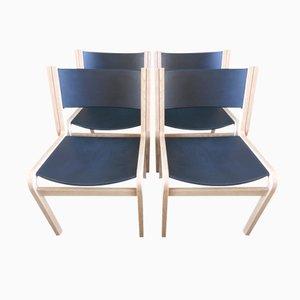 Dänische Stühle aus Eiche von Thygensen & Sorensen für Botium, 1970, 4er Set