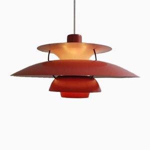 Lampe à Suspension PH5 par Poul Henningsen pour Louis Poulsen, Danemark, 1950s