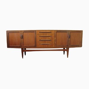 Fresco Teak Credenza by Victor Wilkins for G-Plan, 1950s