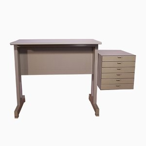 Modular Writing Desk by Ettore Sottsass for Olivetti Synthesis
