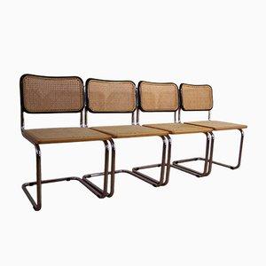 B32 Stühle von Marcel Breuer für Cesca, 4er Set