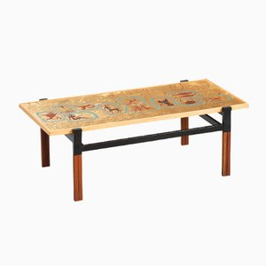 Italian Enameled Coffee Table
