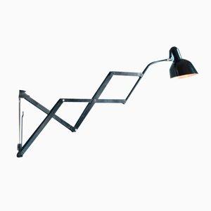 Lámpara de pared acordeón alemana vintage de SiS