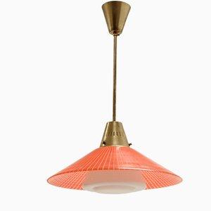 Lámpara colgante escandinava de Tr & Co, años 60