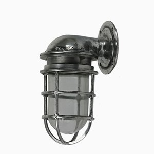 Cast Aluminium Wall Light from Oceanic, 1950s