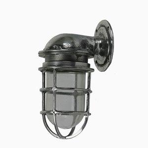 Wandlampe aus Aluminiumguss von Oceanic, 1950er