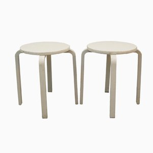 Finnish Stools by Alvar Aalto for Artek, 1929, Set of 2