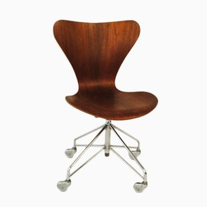 Mid-Century Office Chair by Arne Jacobsen for Fritz Hansen