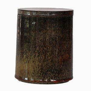 Dänische Vintage Vase mit Deckel von Hermann Kähler