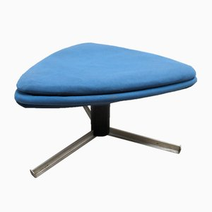 Vintage Space Age Freeform Triangular Tripod Ottoman from Steiner