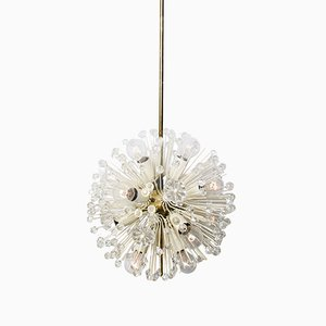 Austrian Snowball Orbit Sputnik Chandelier by Emil Stejnar for Rubert Nikoll, 1950s