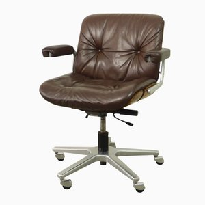 Swiss Office Swivel Chair from Stoll Giroflex, 1970s