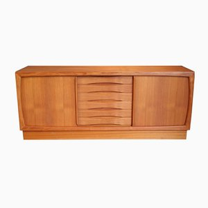 Scandinavian Teak Sideboard with Six Drawers from Dyrlund, 1960s