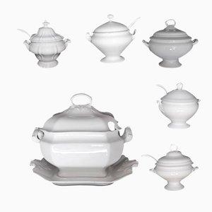 Antique Soup Bowl Set