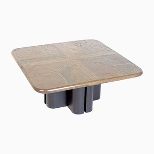 Vintage Dutch Brutalist Coffee Table from M. Kingma, 1970s