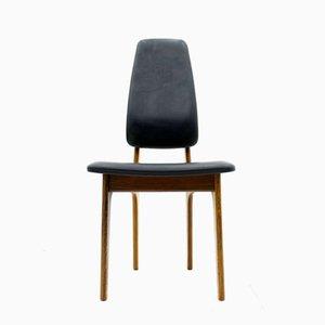 Sedia con schienale alto in palissandro di Erik Buch per O.D Møbler, anni '60