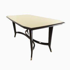 Tisch aus Ebonisiertem Buchenholz, 1950er