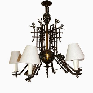 Bronze 19th Century Chandelier