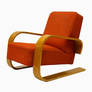Model 400 Tank Chair By Alvar Aalto For Artek, 1950s