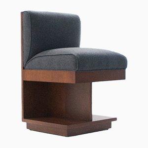 Eichenholz Furnier Stuhl von Richard Neutra für Maximilian, 1940