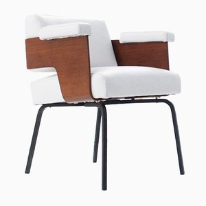 Comfort Chair by Antoine Philippon & Jacqueline Lecoq, 1950
