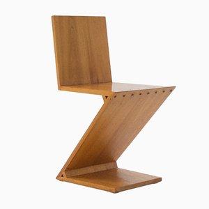 Chaise Zig Zag par Gerrit Rietveld, 1969
