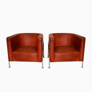 Lounge Chairs by Gunnar Asplund for Källemo Sweden, Set of 2