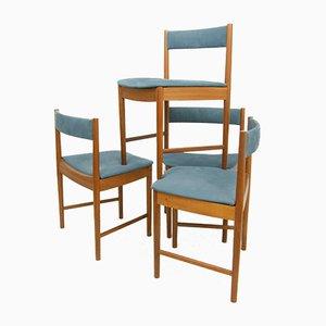 Britische Esszimmerstühle von Mcintosh, 1960er, 4er Set