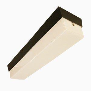 Lámpara de techo de neón italianas, años 50