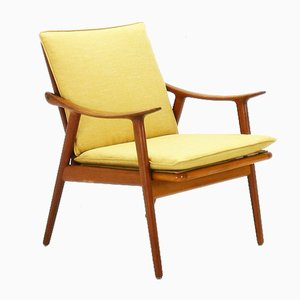 Norwegian Model 563 Teak Easy Chair by Fredrik Kayser for Vatne, 1960s