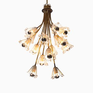 Lámpara de araña de 16 luces de Emil Stejnar, años 50