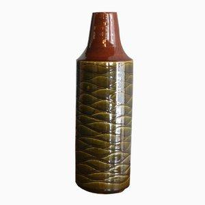 Dänische Glasierte Vase von Jacob Bang, 1960er