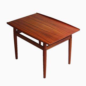 Table Basse en Teck par Grete Jalk pour Glostrup, Danemark