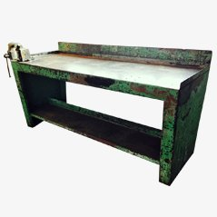 Metal Industrial Workbench