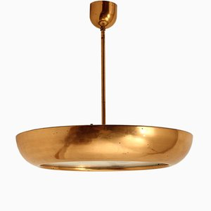 Czech Bauhaus Style Ceiling Light by Josef Hurka for Napako, 1930s