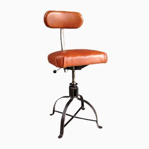Adjustable Industrial Atelier's Chair from Biénaise