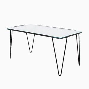 Table Basse en Verre par Arnold Buena De Mesquita pour Spurs, 1955