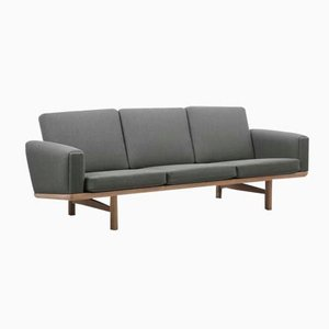 GE236/3 Sofa & Daybed by Hans J. Wegner for Getama, 1960s