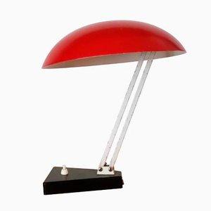 Lampe de Bureau No. 135 Mid-Century par H. Busquet pour Hala
