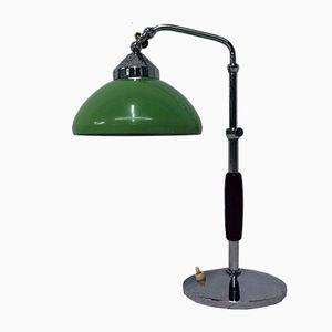 Chrom & Aluminium Tischlampe, 1950er