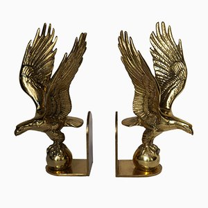 Hollywood Regency Eagle Bookends