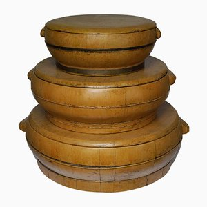 Decorative Chinese Boxes, Set of 3
