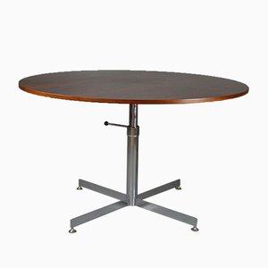 Table de Salle à Manger ou Table Basse Mid-Century Ajustable en Palissandre