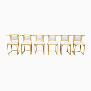 Fledermaus Chairs by Josef Hoffmann for Wittmann, 1980s, Set of 6